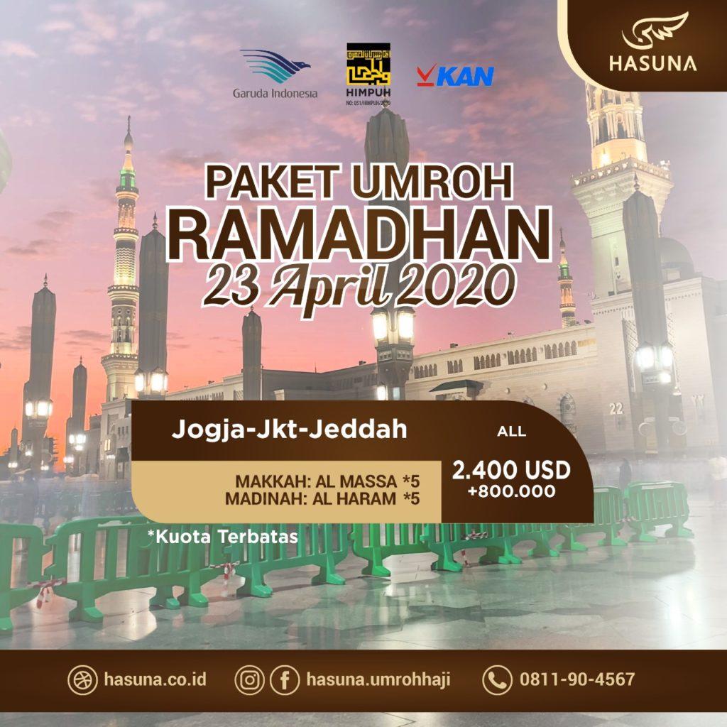 paket umroh jogja ramadhan