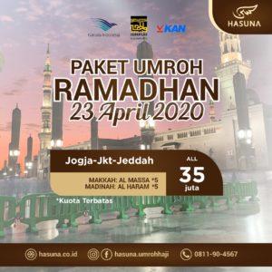 paket umroh ramadhan hasuna